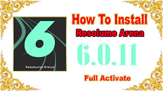 Resolume Arena 6.0.11 For PC