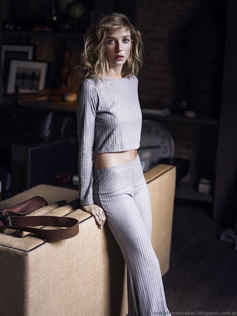 Moda otoño invierno 2016 ropa de mujer. Ossira colección otoño invierno 2016.