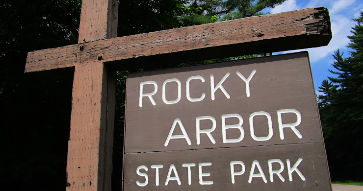 Exploring Rocky Arbor State Park