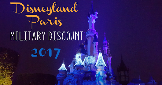 Military Discount for Disneyland Paris