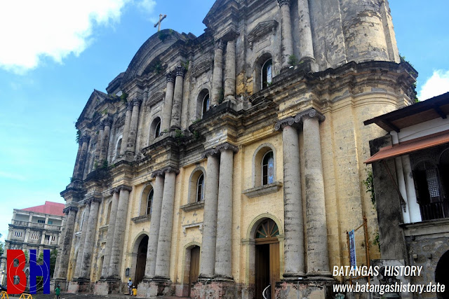 The St. Martin de Tours Basilica in Taal, Batangas.