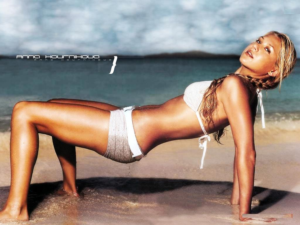 south mp3 songs: Tennis Player Anna Kournikova Hot hd wallpapers