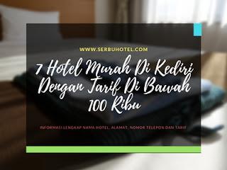 7 Hotel Murah Di Kediri Dengan Tarif Di Bawah 100 Ribu Dan Rekomended
