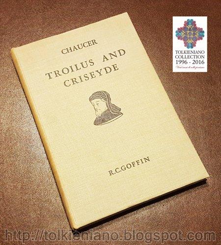 Troilus and Criseyde, firmato e annotato da J.R.R. Tolkien