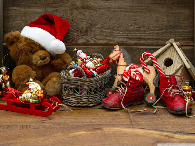 merry xmas toys wallpapers images