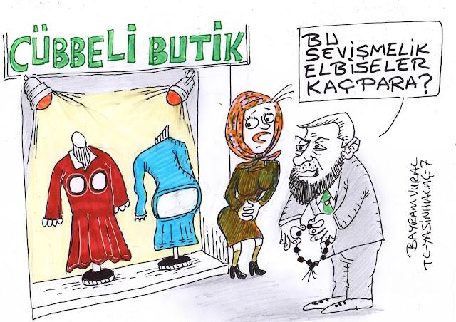 cübbeli butik karikatür