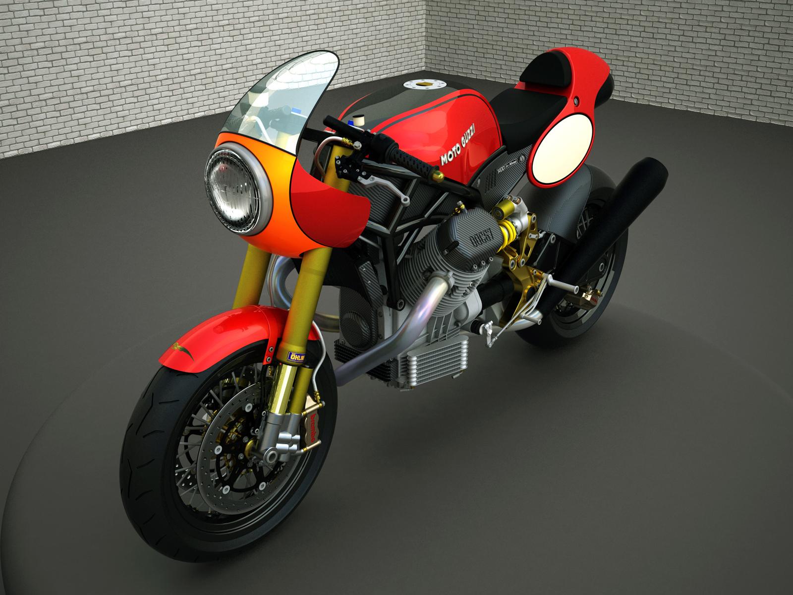 Racing Cafè: Design Corner  Moto Guzzi Le Mans 1400 by