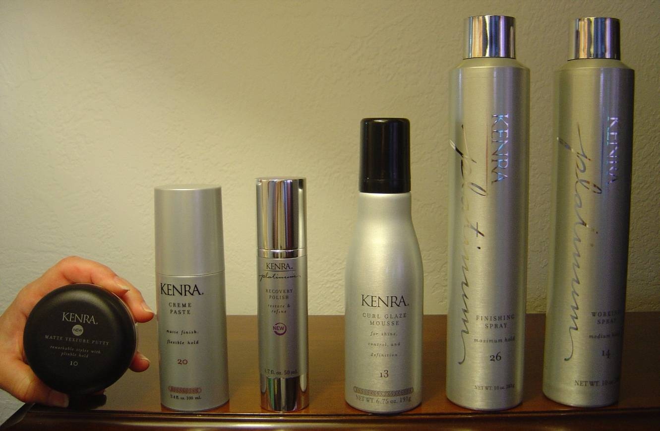 Nuts 4 Stuff: Kenra Professional Hair Styling Products