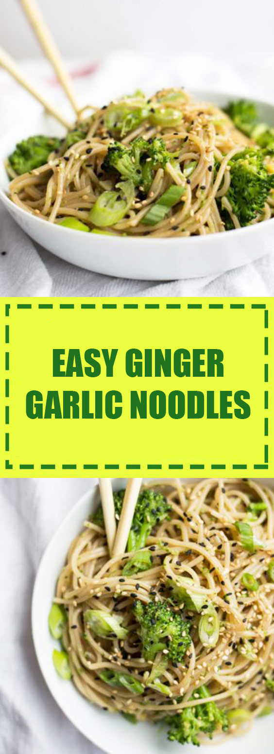 Ginger Garlic Noodles