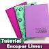 Como Encapar Livros | Livros escolares | Origami | #PapelEmTudo