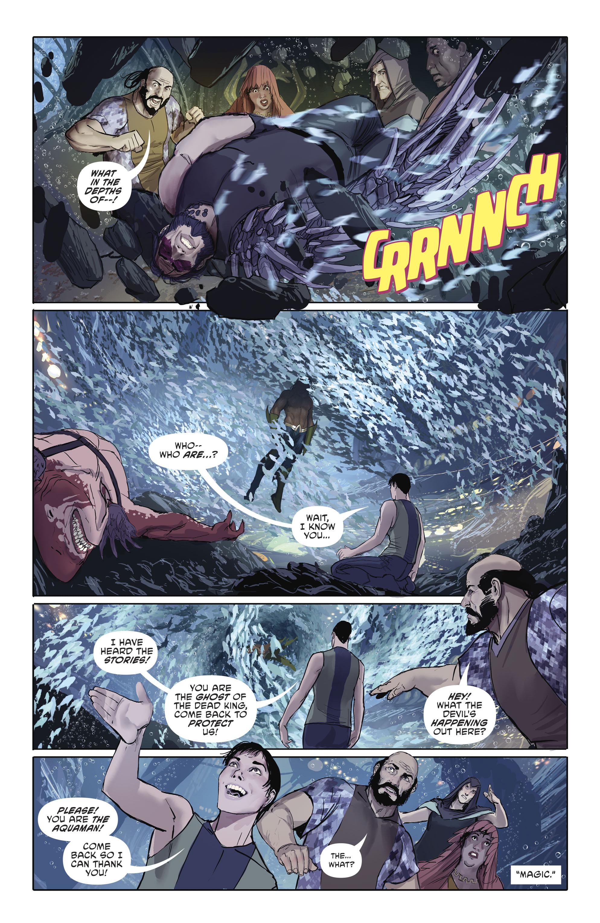 Read online Aquaman (2016) comic -  Issue #25 - 15