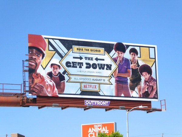 The Get Down series premiere billboard