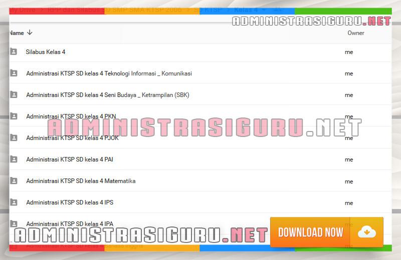 RPP Bahasa Inggris SD Kelas 4 Lengkap dengan Silabus, KKM dan PROGRAM SEMESTER 1 - 2