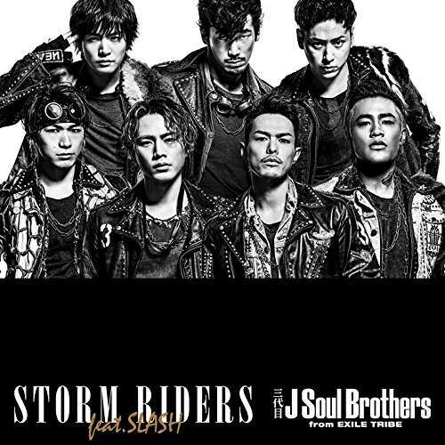 [Single] 三代目 J Soul Brothers from EXILE TRIBE – STORM RIDERS feat.SLASH (2015.04.22/MP3/RAR)