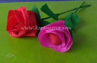 Membuat Prakarya Bunga dari Kertas Krep untuk Anak SD