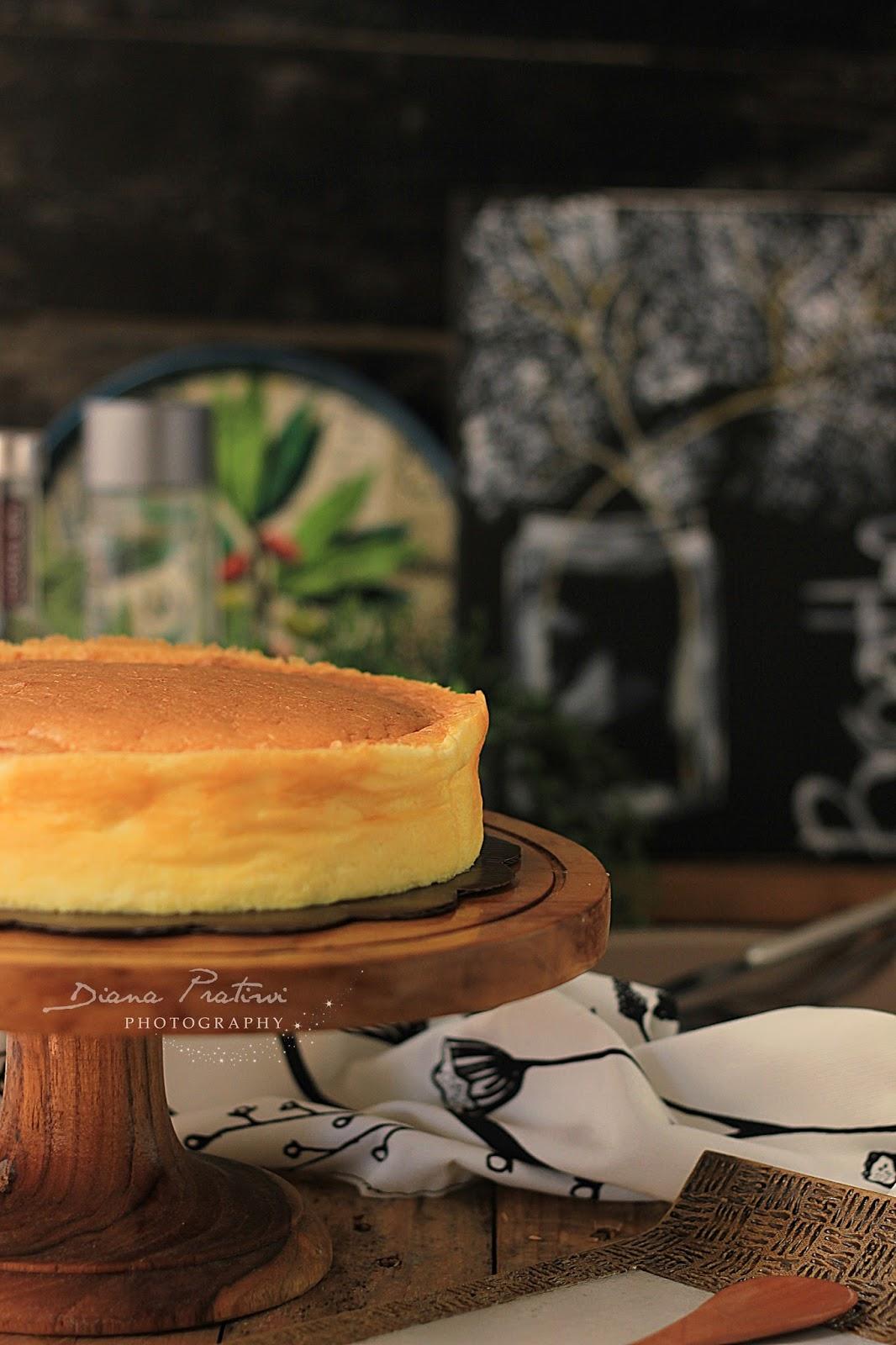 Resep Japanese Cheese Cake Ekonomis