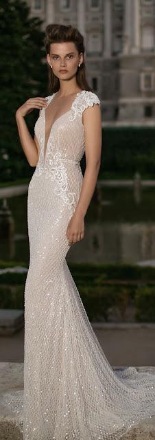 Vestido de novia de Berta Bridal - Pinterest