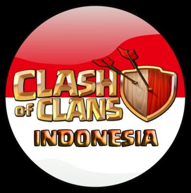 bendera indonesia clash of clans
