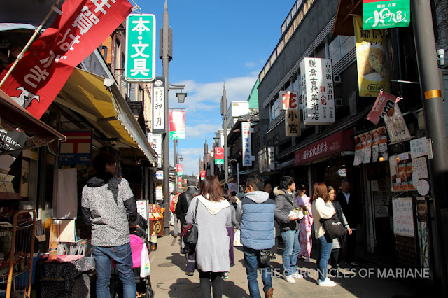 komachi street kamakura