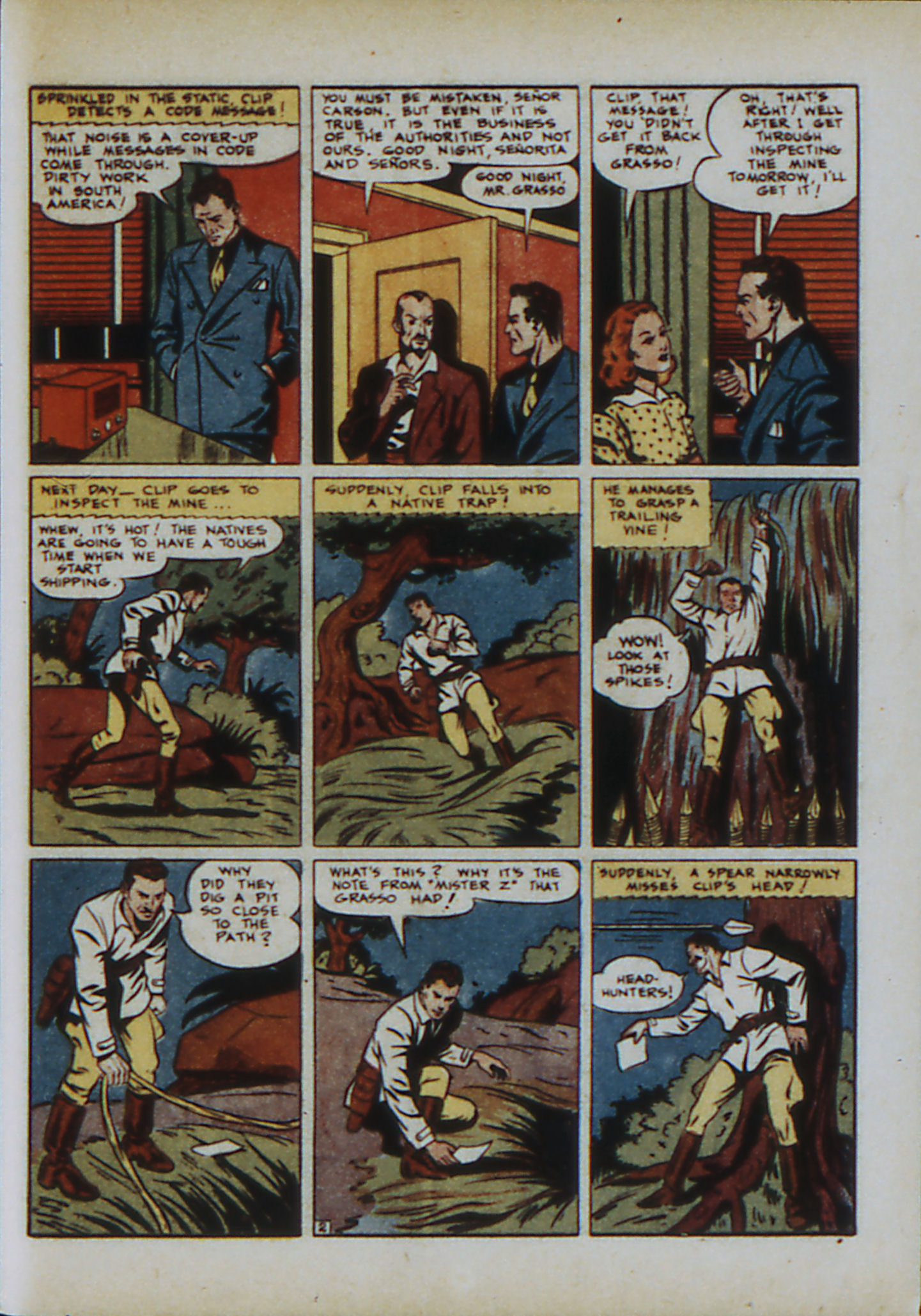 Read online Action Comics (1938) comic -  Issue #33 - 50
