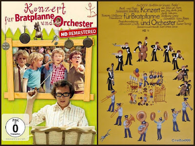 Концерт для сковороды с оркестром / Konzert für Bratpfanne und Orchester. 1976.