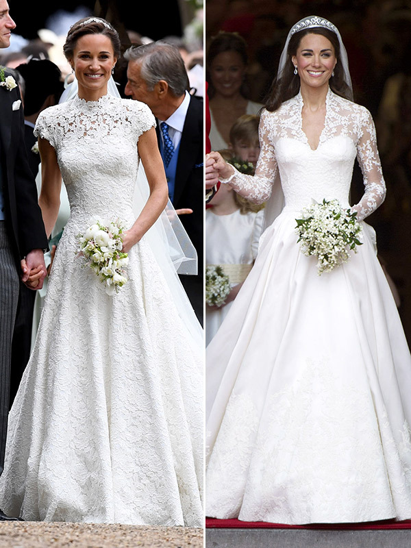Royal couture pippa middleton wedding wedding gown for Wedding dress princess kate