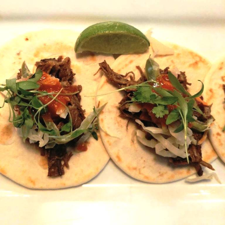 Korean Short Rib Tacos at City Tap House Nashville #ad