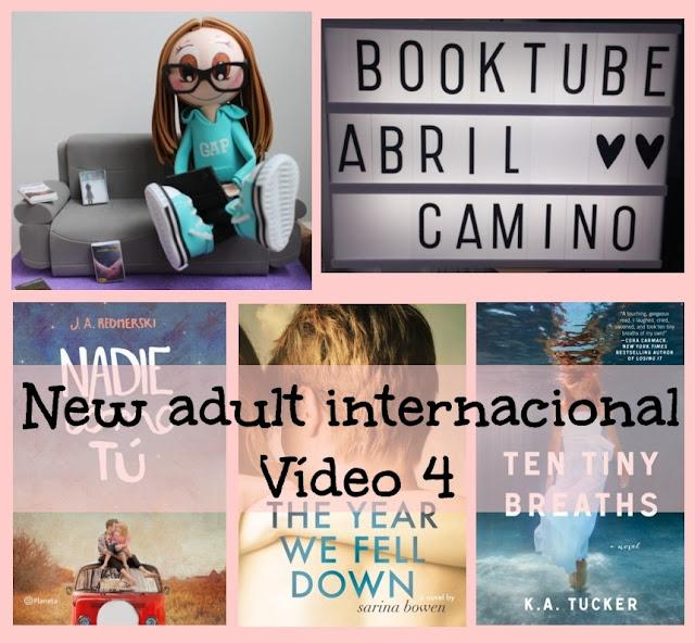 Romántica new adult internacional (Vídeo 4)