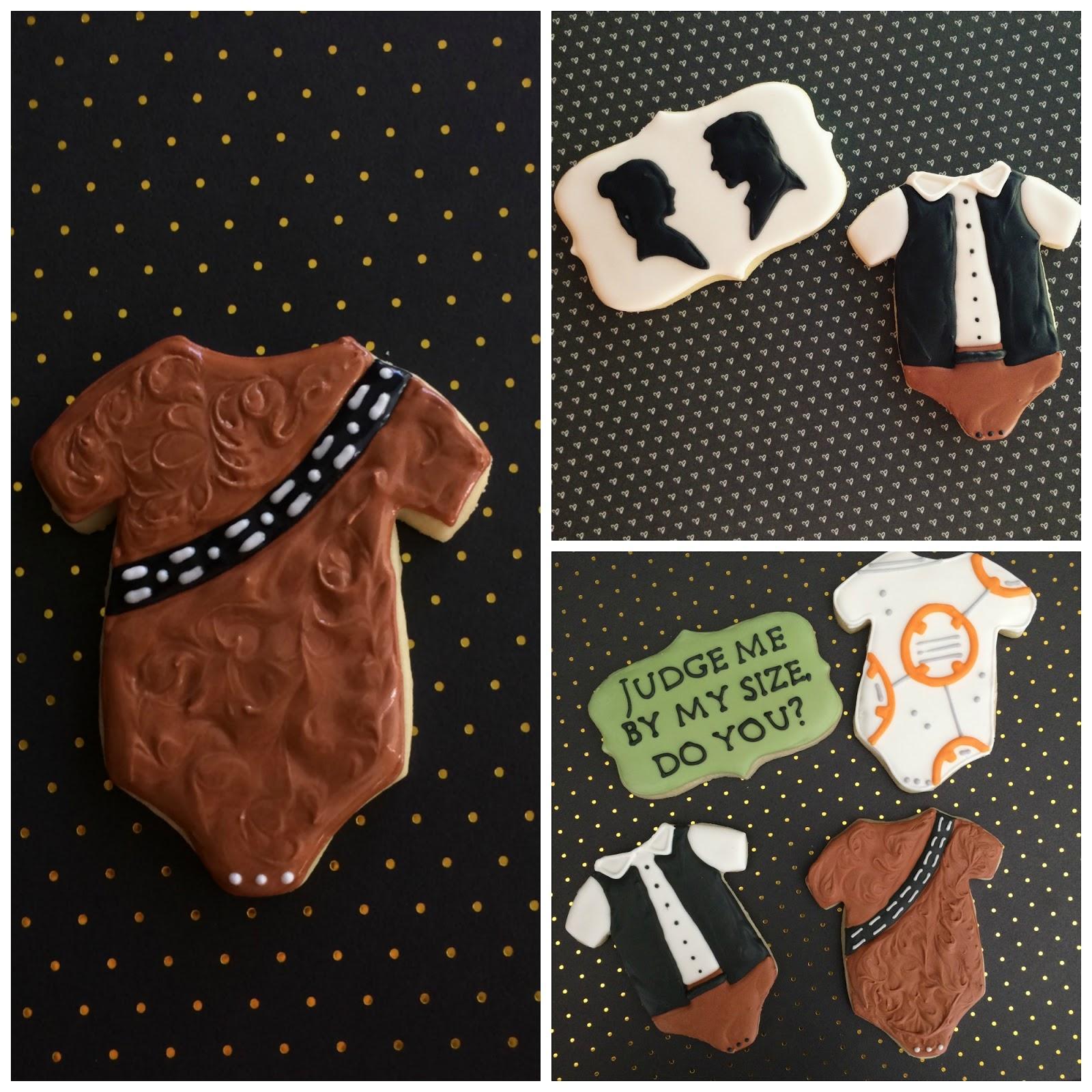 Perfect Baby Shower Star Wars Cookie Tutorial