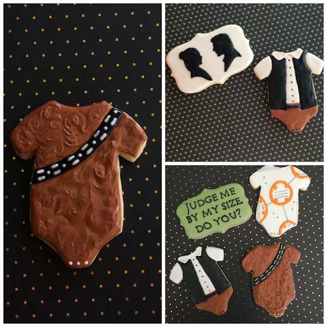 baby shower star wars cookie tutorial