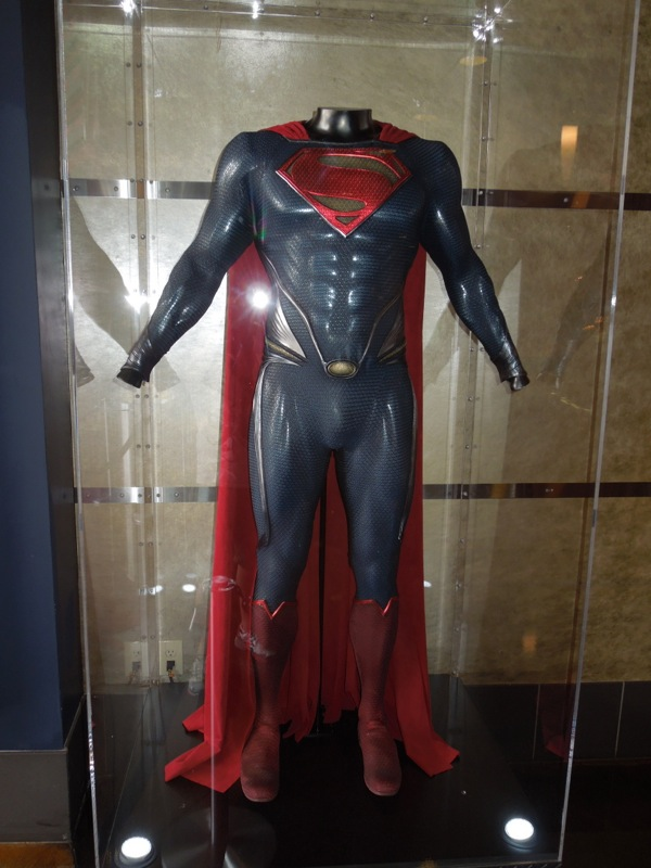 Man of Steel Superman costume ArcLight Pasadena