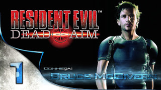 Logo Resident Evil 2 Dead Aim 2003 PS2 ISO Playstation 2 RE2