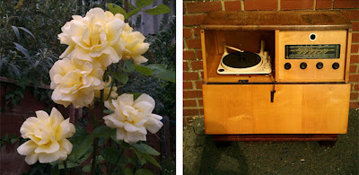 roses and radiogram