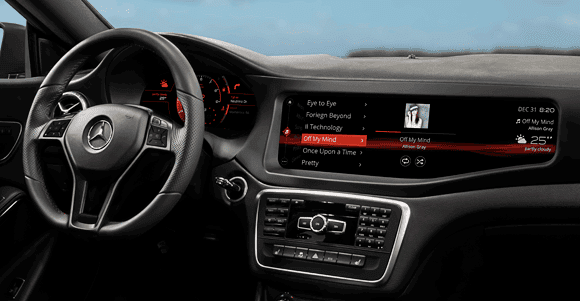 QNX 2014 technology concept car - infotainment system