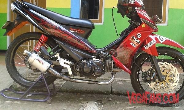 Modifikasi Motor Vega  ZR Underbone