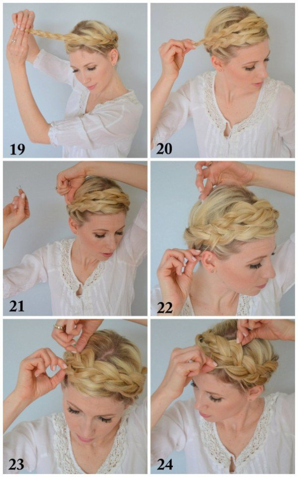 11.THE BOHO CROWN BRAID TUTORIAL