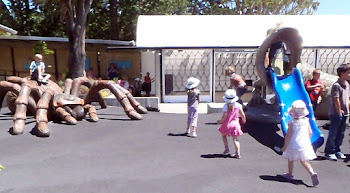 Lizard slide or Shelob? Hmmm, what a choice for a kid