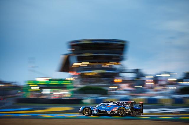 El equipo Signatech Alpine Matmut gana las 24 Horas de Le Mans.