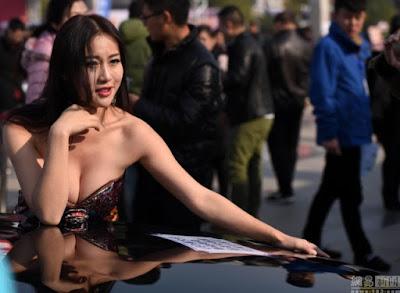 Jiang Qing, Gadis China Berpayudara Terindah 2015