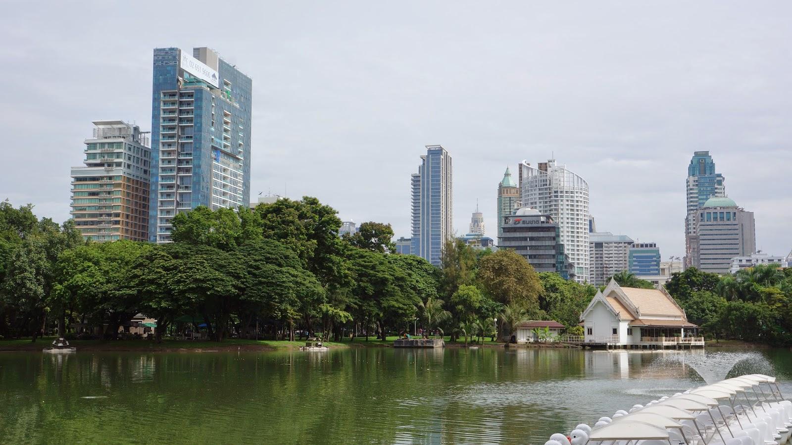 Lumpini Park, Bangkok's largest park