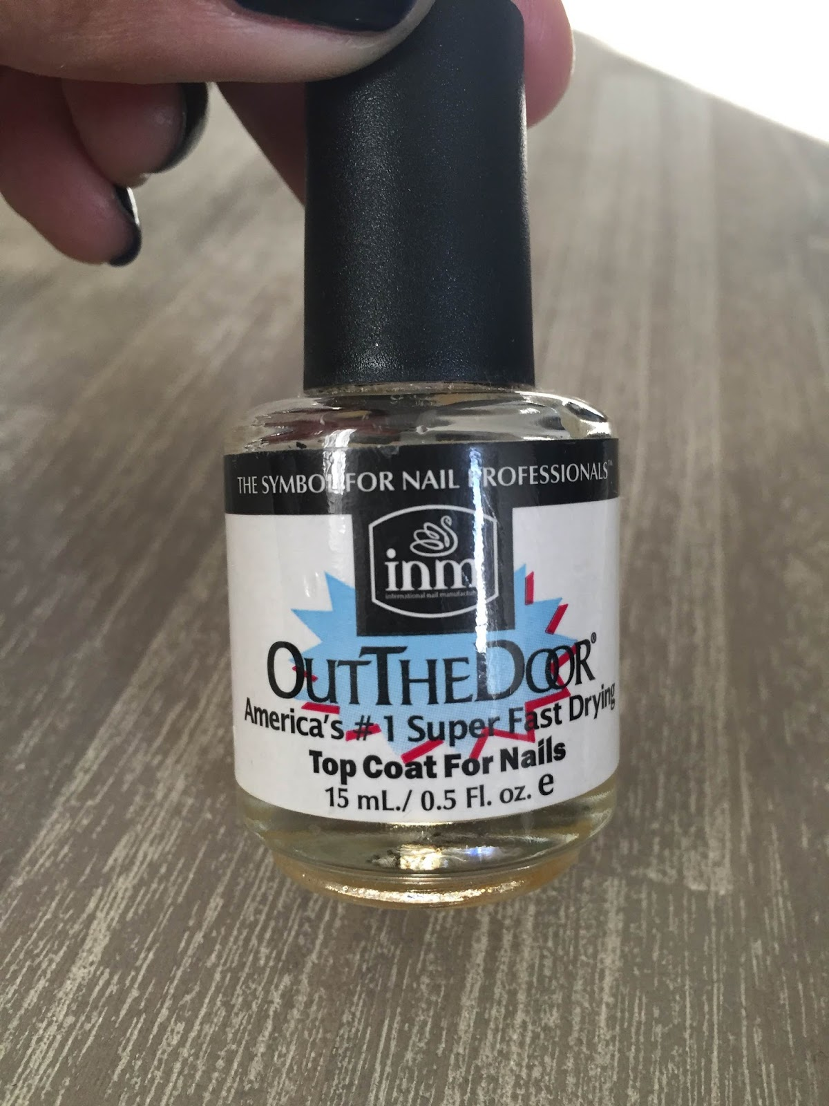 forever following the light otd is another popular top coat for whatever reason the bottle i own is a clear yellowish liquid rather than completely clear not sure if that impacts its