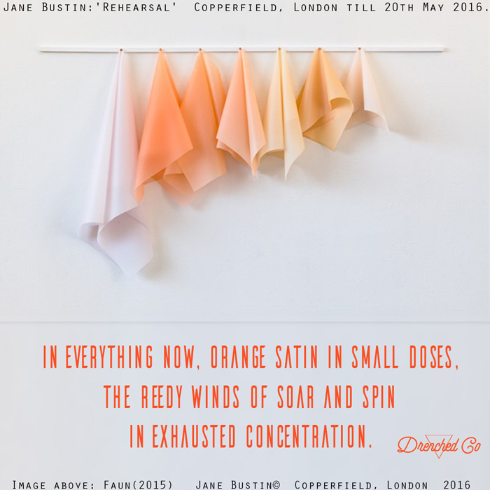 Image of Copperfield, London with art exhibition review by Drenched Co.
