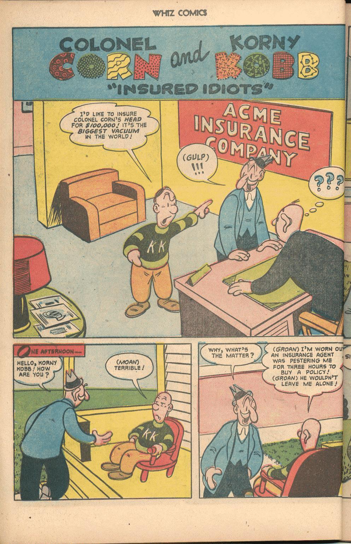 Comic WHIZ Comics issue 134