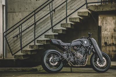 "Yamaha MT-07 ""Onyx Blade"" by Rough Crafts"
