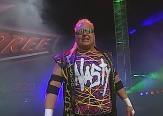 WCW Slamboree 1999 - Brian Knobbs faced Bam Bam Bigelow