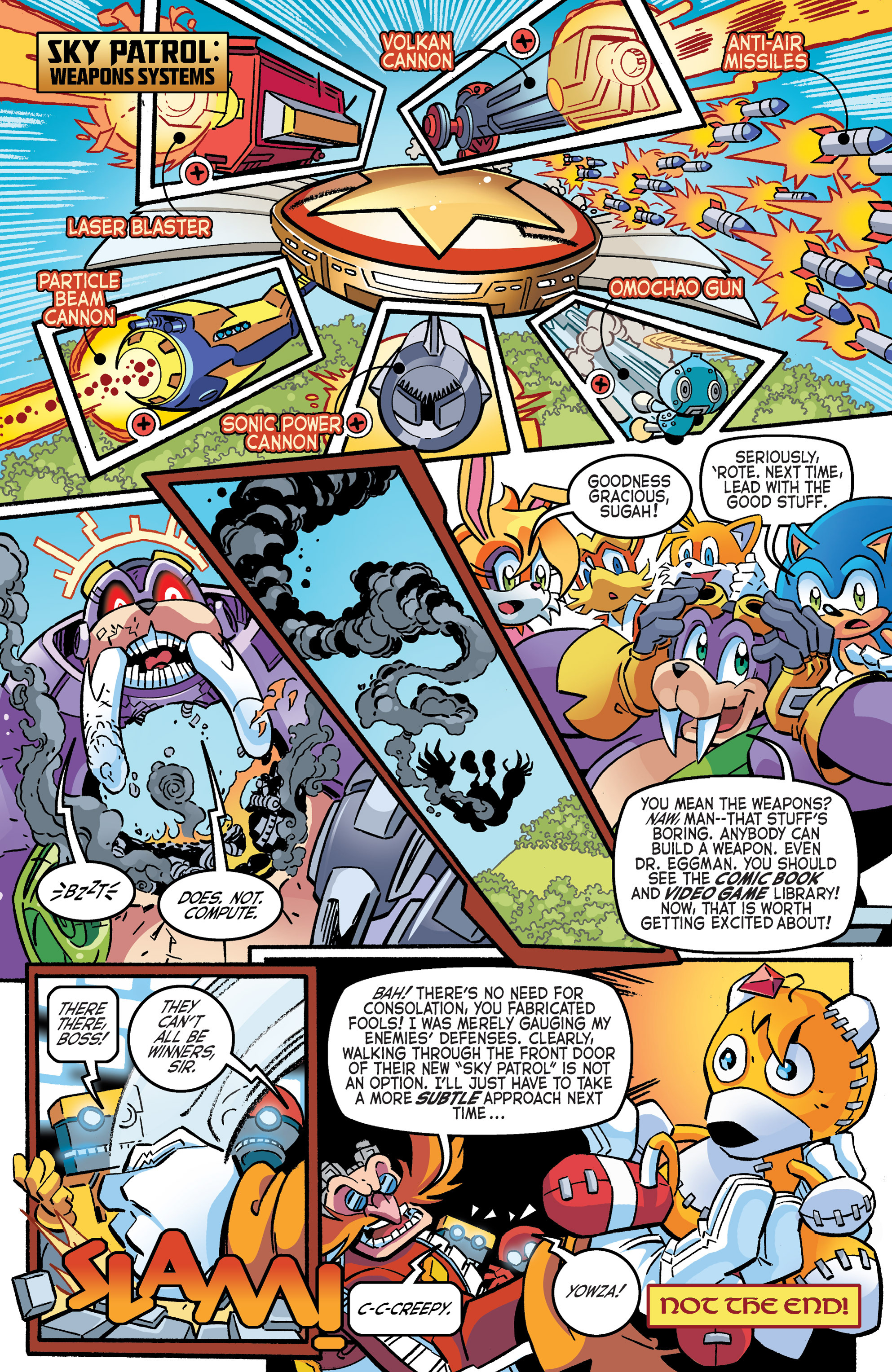 Read online Sonic The Hedgehog comic -  Issue #265 - 22