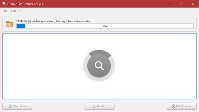 Double File Scanner 2.04 | Buscar y eliminar archivos duplicados