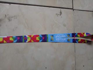 Pusat tali id card &print tali lanyard berkualitas di Jakarta