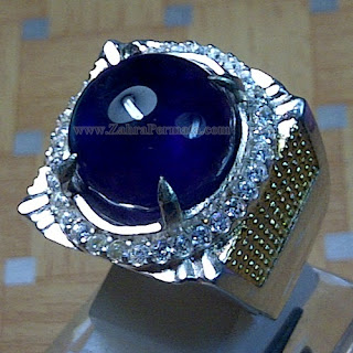 Cincin Batu Kecubung Ungu - ZP 921
