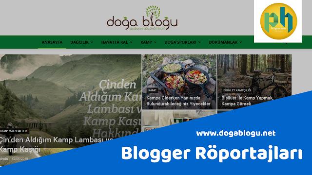 Blogger Röportajları: dogablogu.net